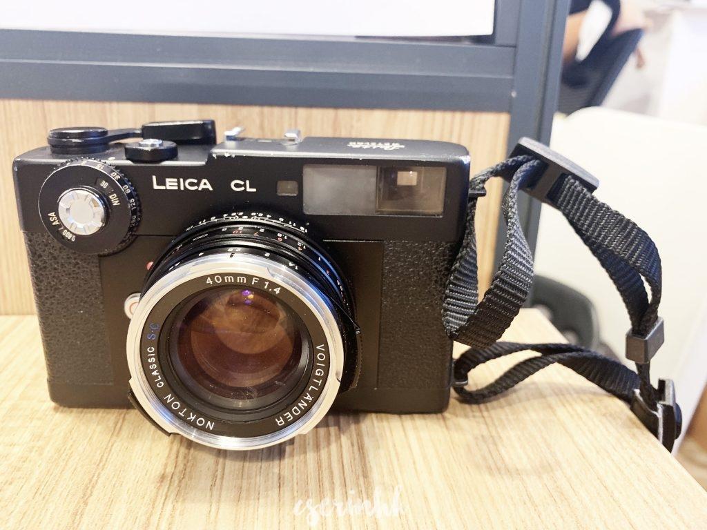 Leica CL / voigtlander 40mm F1.4