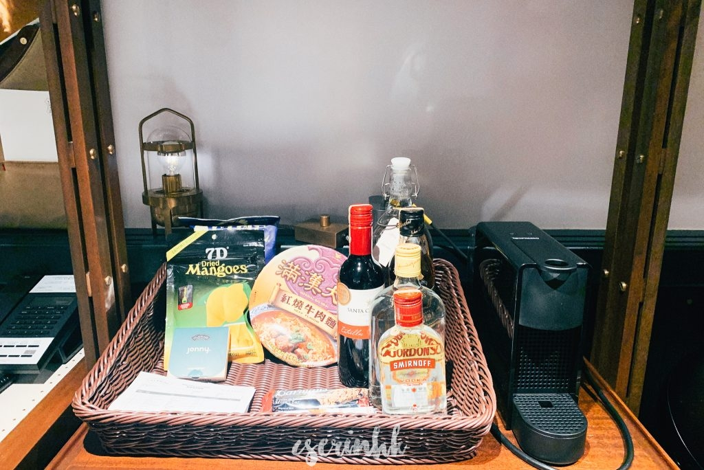 hotel snack bar